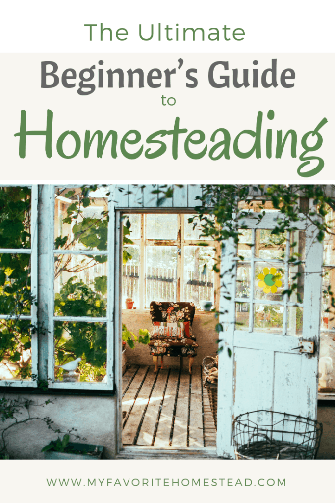 The Ultimate Beginner's Guide to Homesteading