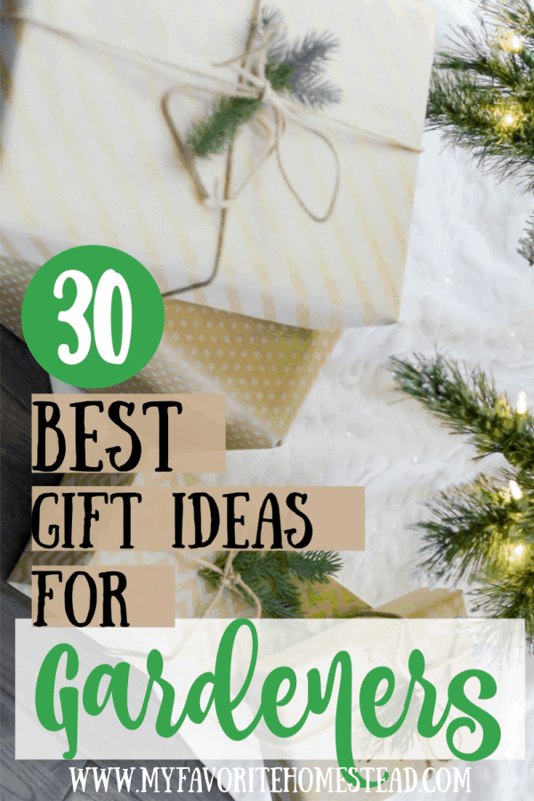 30 best gift ideas for gardeners