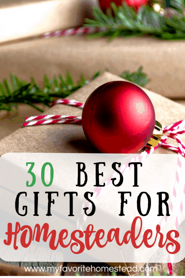 30 best gifts for homesteaders