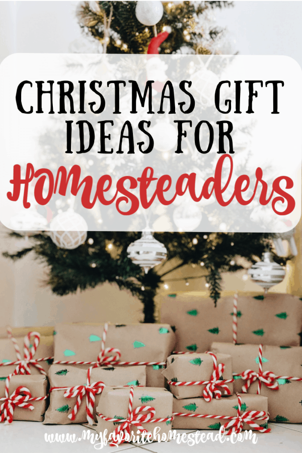 Christmas Gift Ideas for Homesteaders