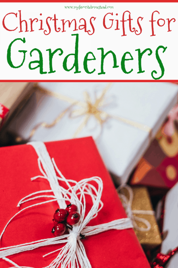 List of Christmas Gifts for Gardeners