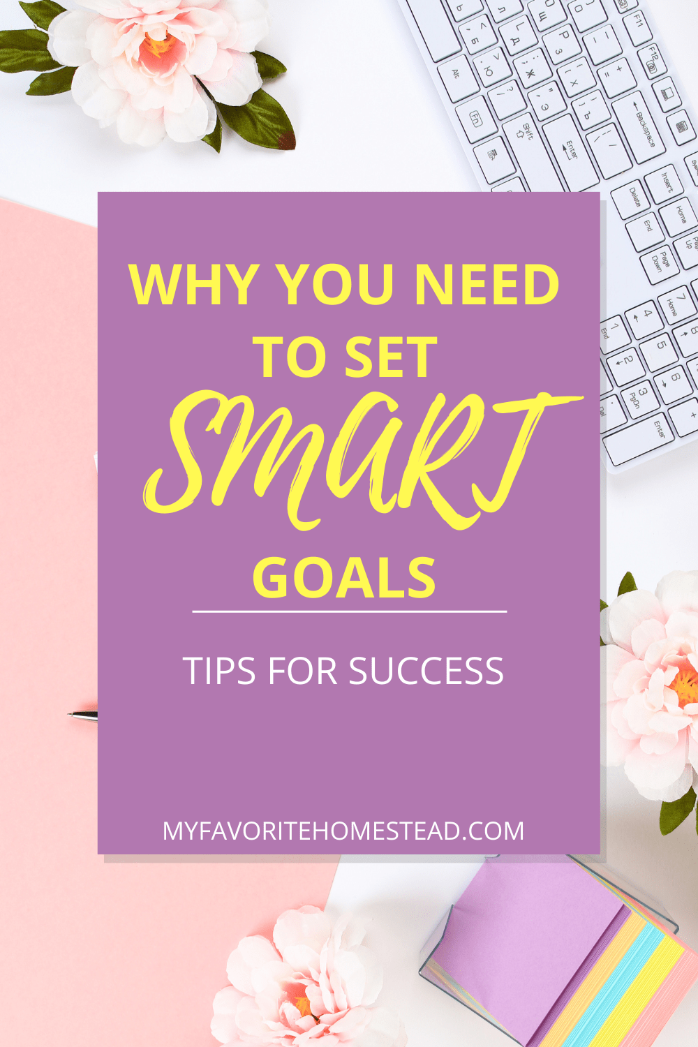 Why you need to set SMART goals